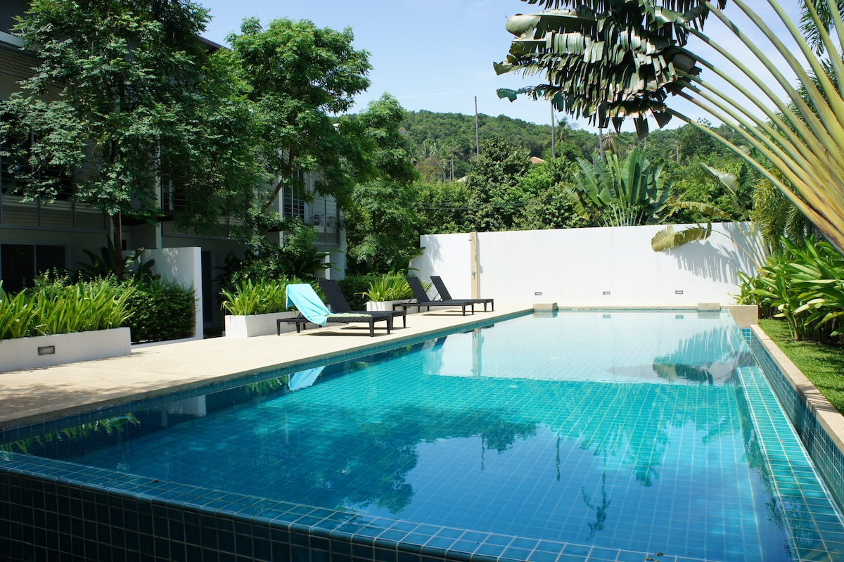 Private 2BR with Pool