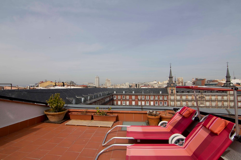 Penthouse  with views Plaza Mayor
