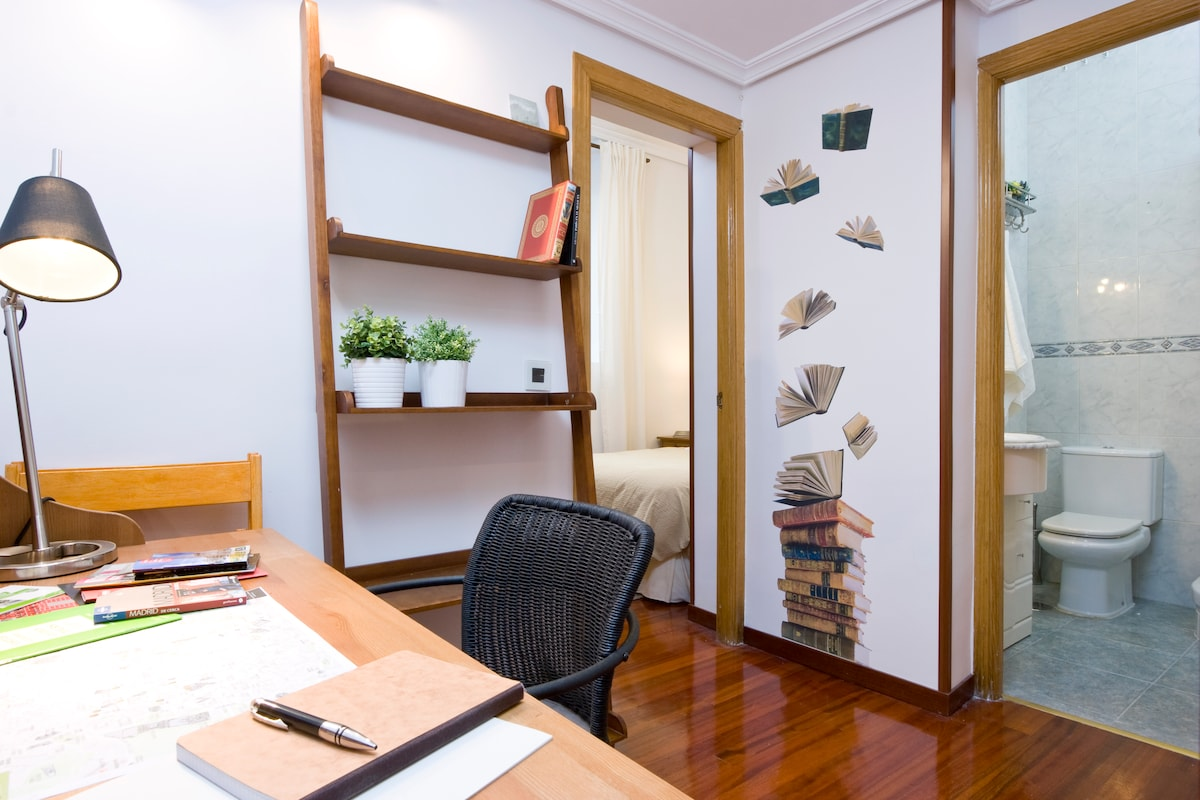 We'll help you organize your day and also the Central Tourism Office of Madrid is located at Plaza Mayor, five minutes walk.
