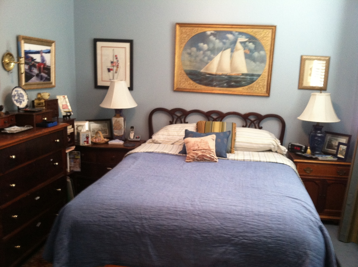 Welcome to your comfortable bedroom!