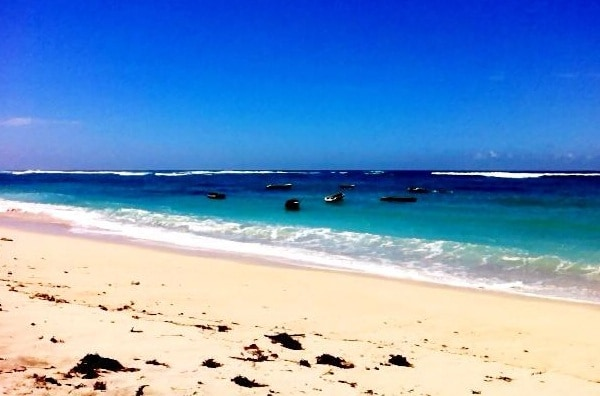 Pandawa Beach  - you can get here in 5- 10 minutes from the acreage.