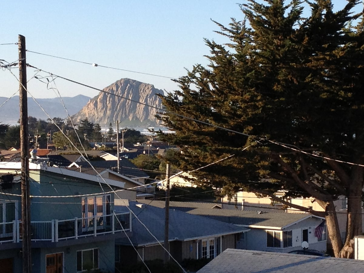 Rock view from the rooftop deck!