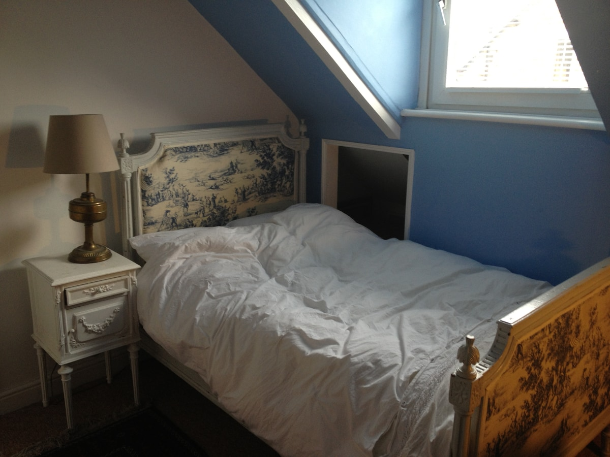 Double bed - French antique