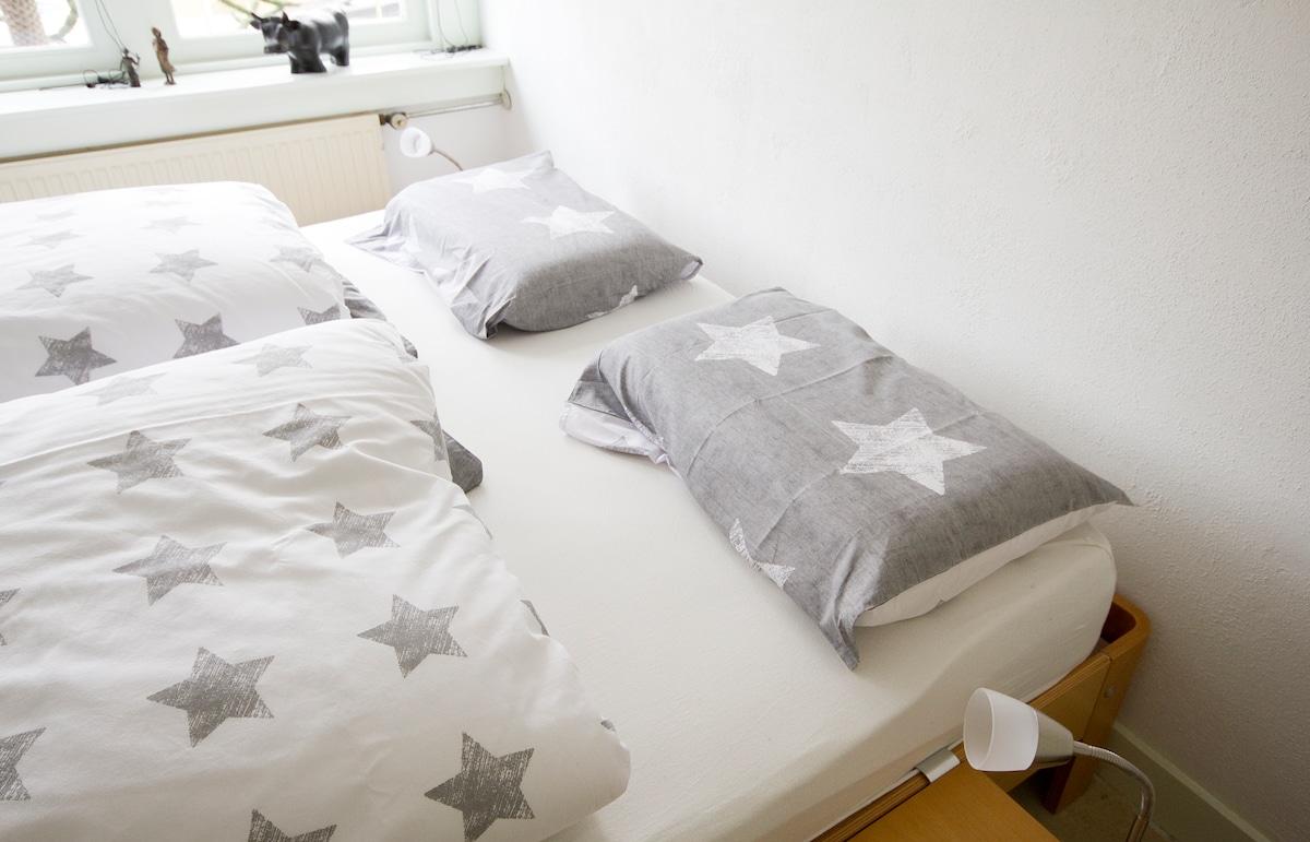 Bed wit foammatras