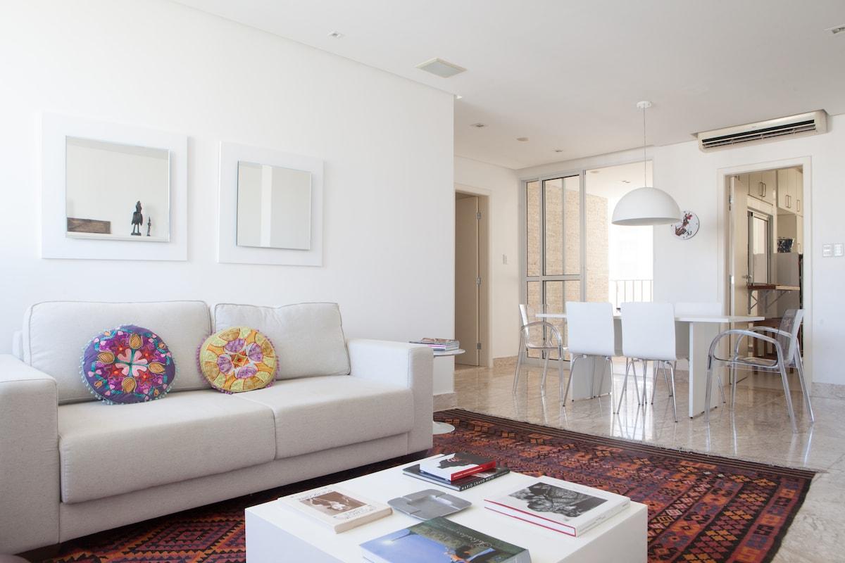 sala de estar com ar condicionado