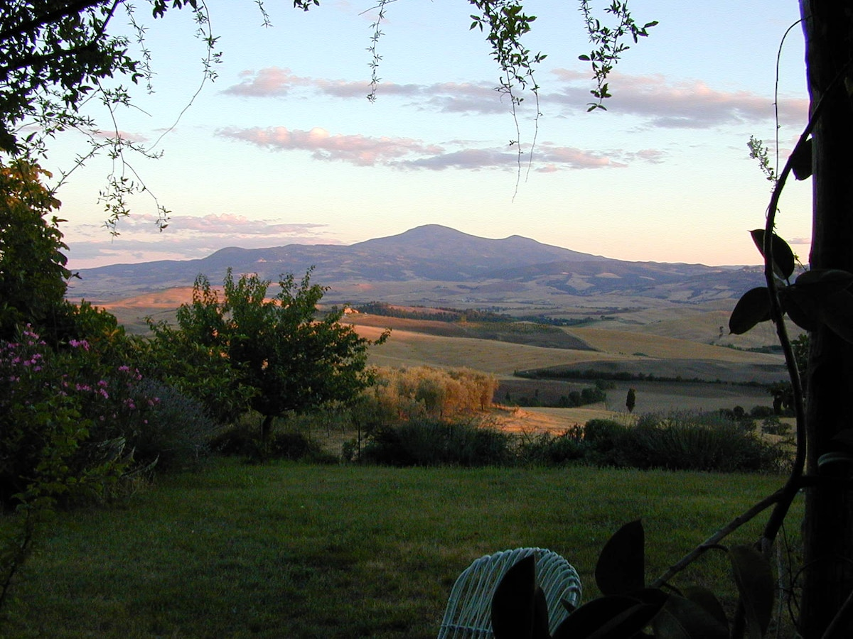 Amazing view of Val d'Orcia