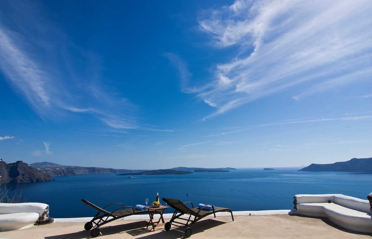 Villa with Pool in Oia, Santorini!!