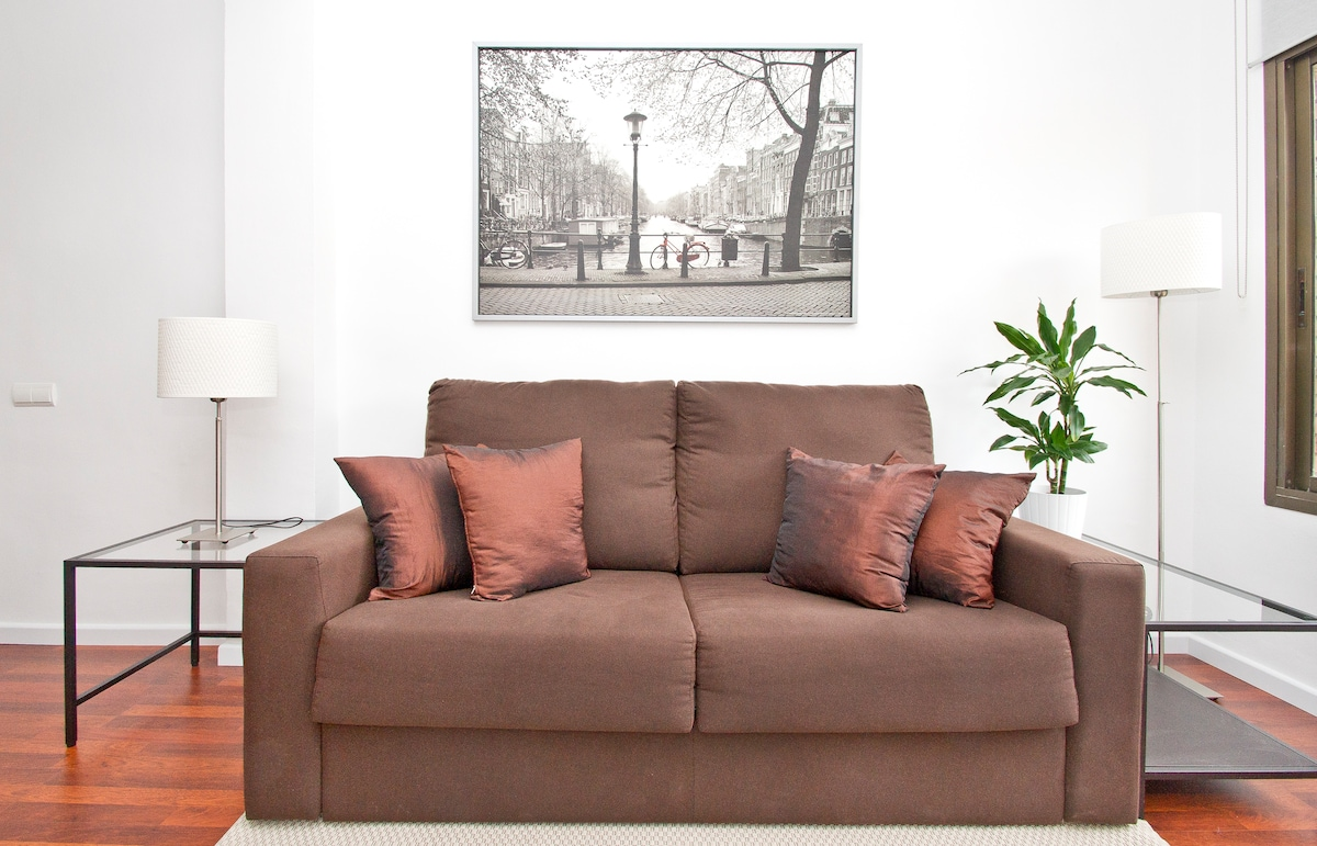 New: Comfortable sofa cum double sofa bed...