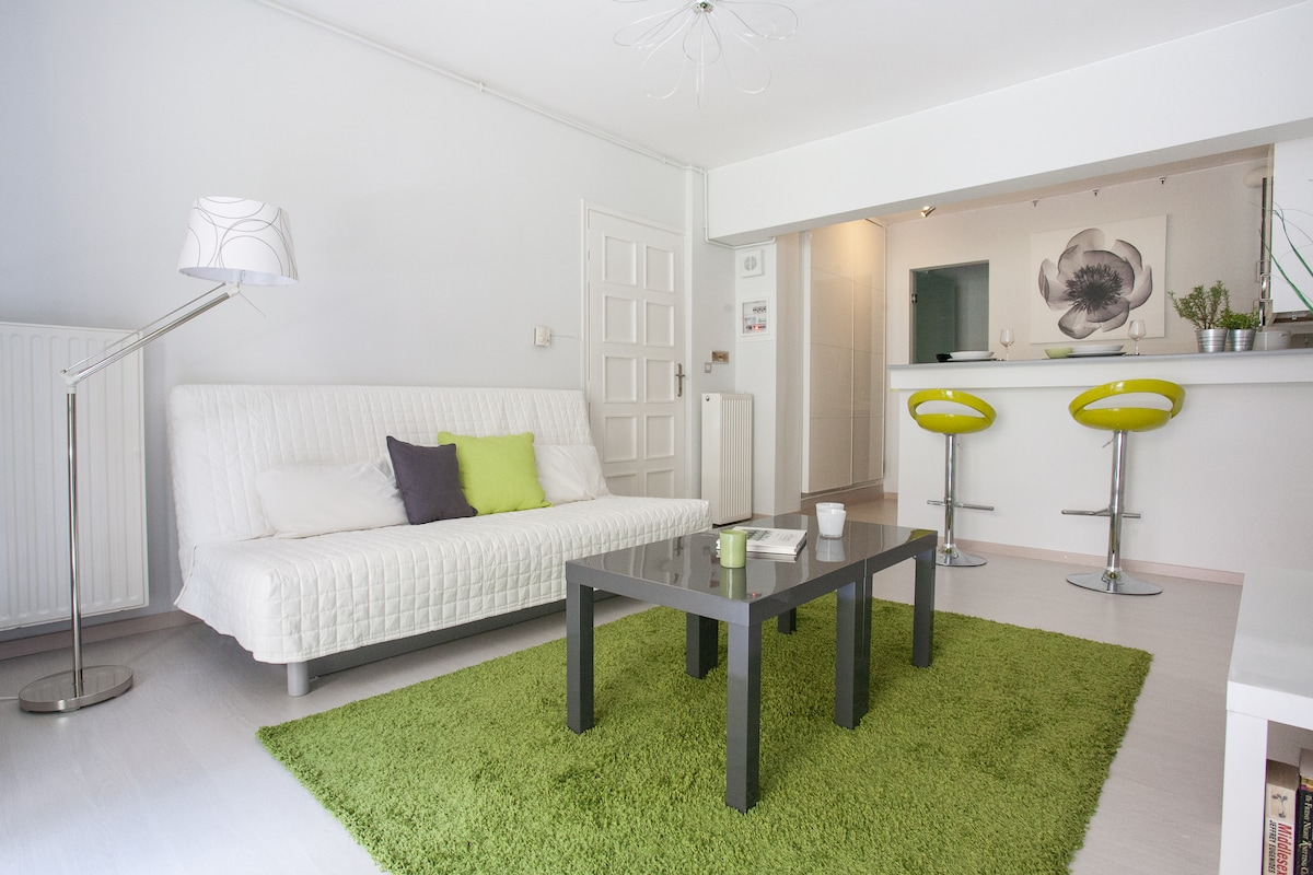 Chic pied-a-terre, perfect for exploring central Athens