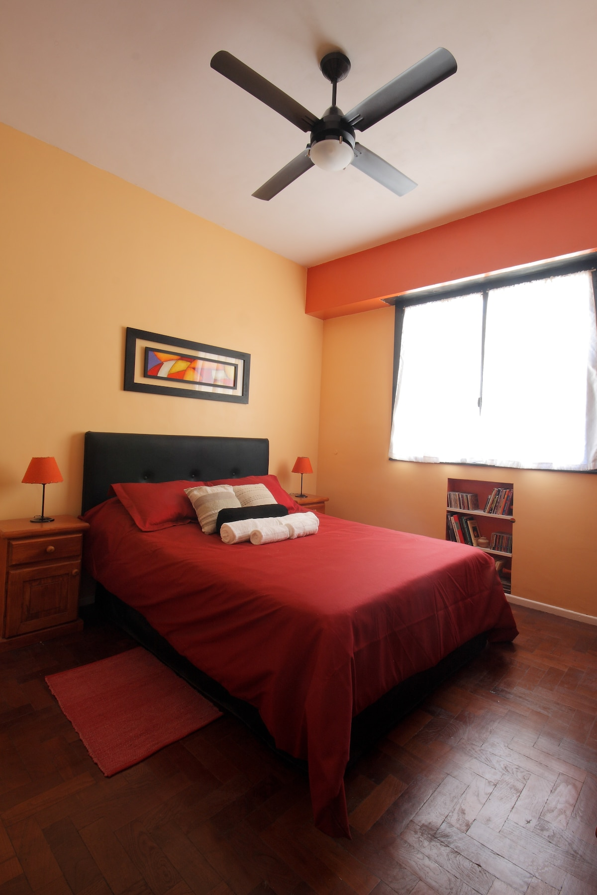 A spacious bedroom with all the comfort you deserve!