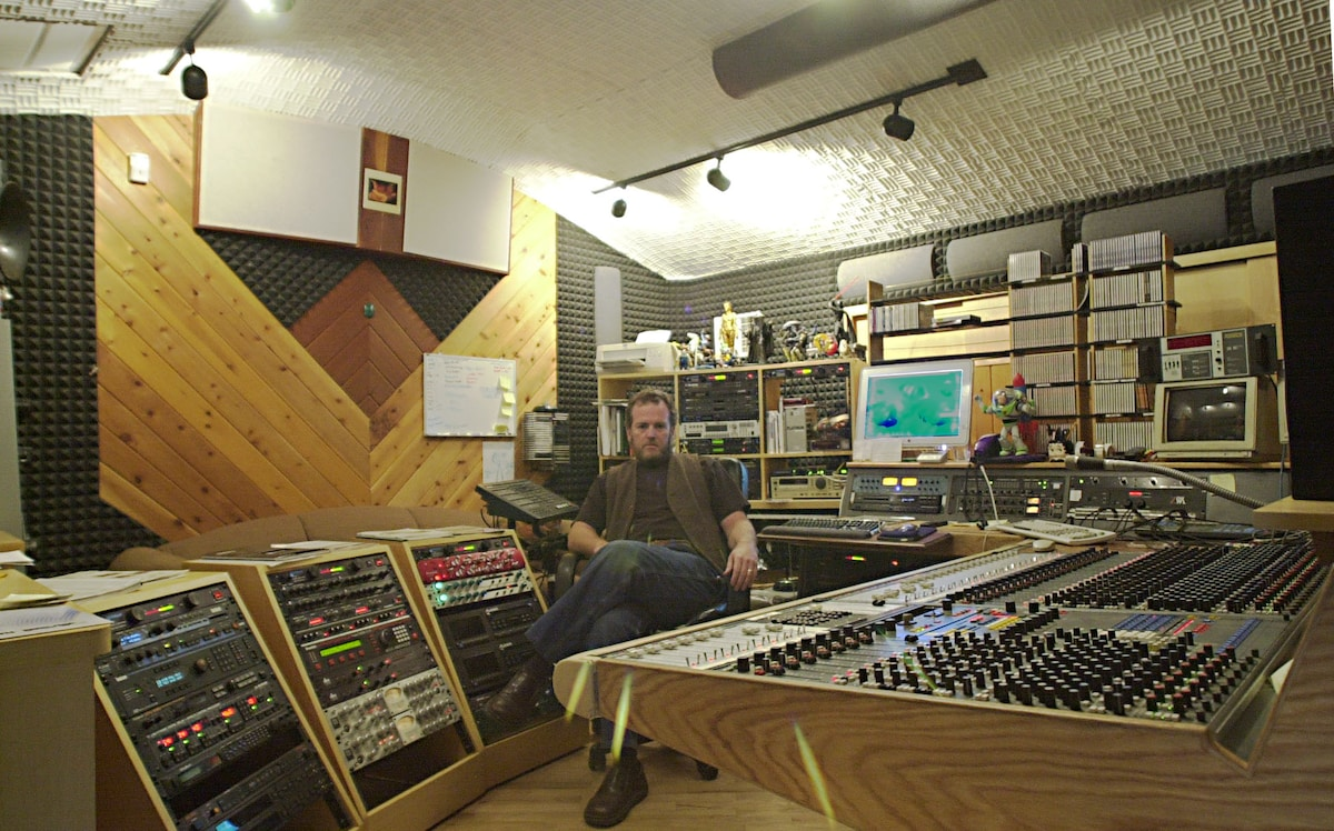 Original Studio in it's HeyDay with a Neve Console