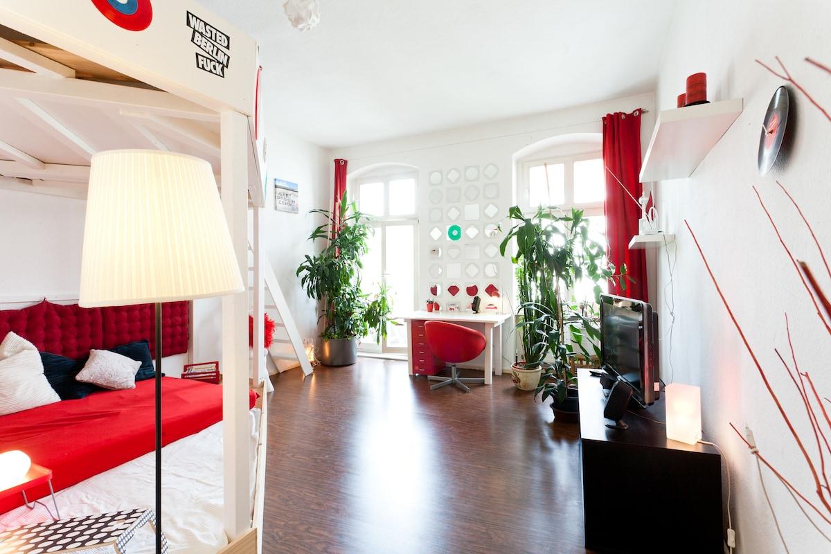 Best Deal with lovely Kiez flat