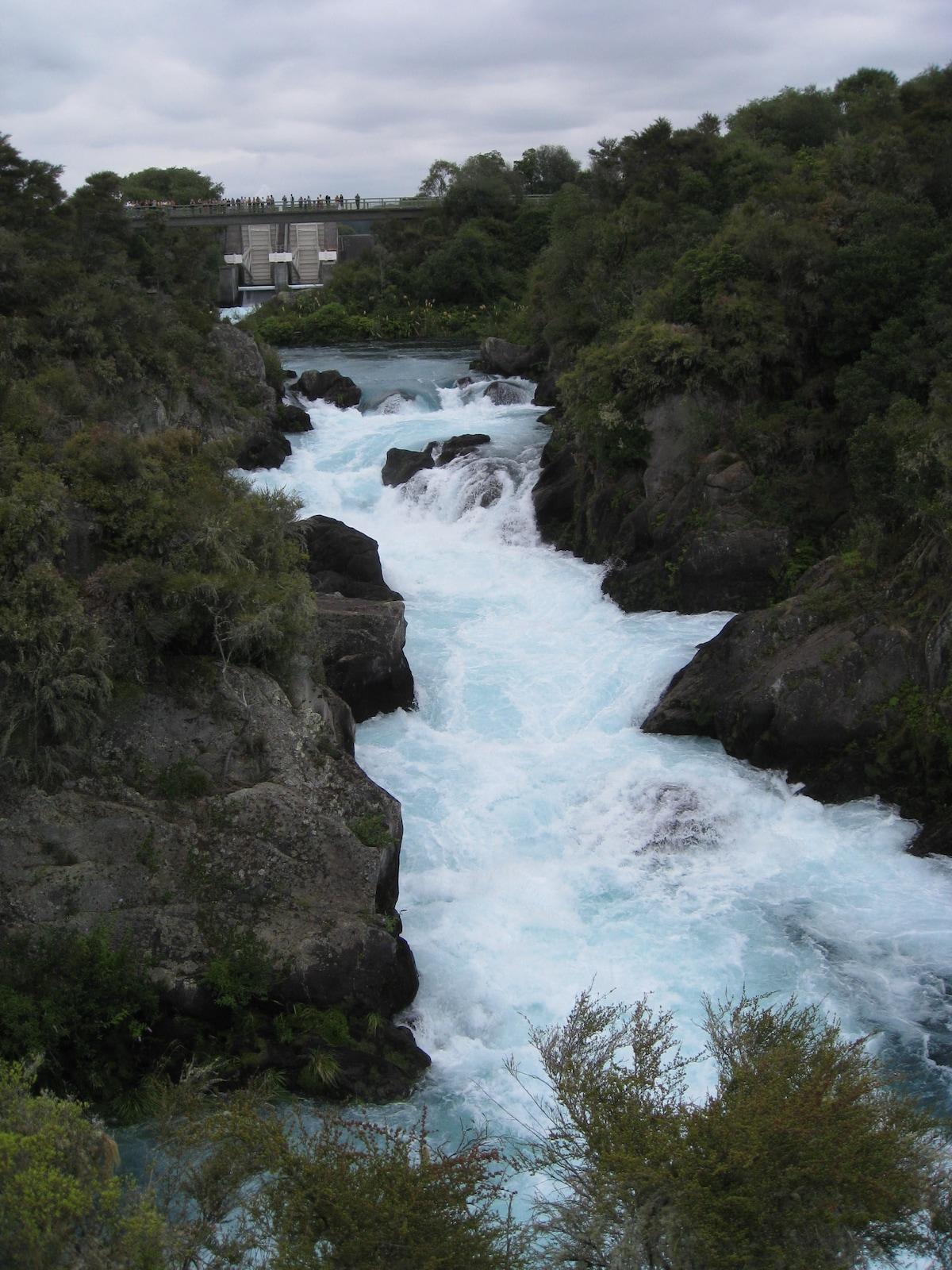 Lake Taupo Huka Falls