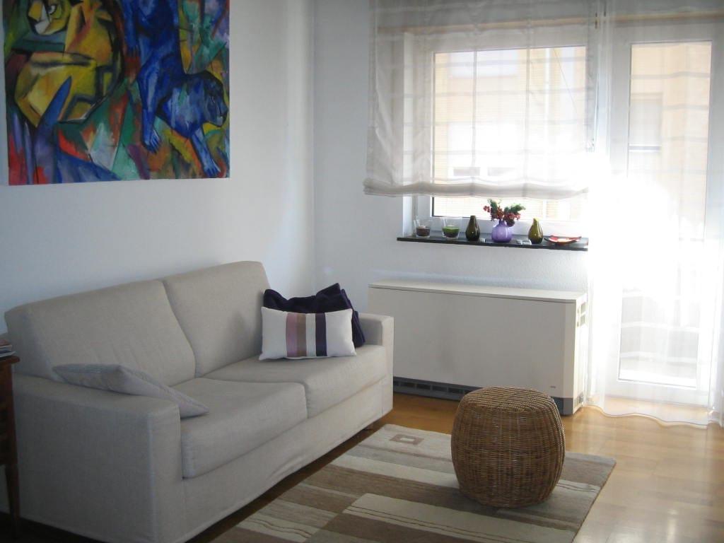 Guestroom in a cosy apartment