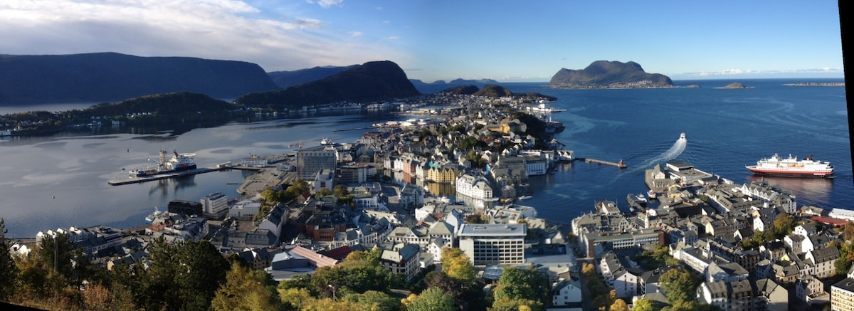 A private studio in lovely Ålesund!