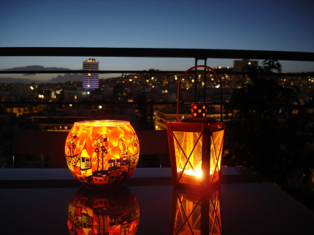 Romantic nights on the terrace...