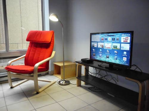 Smart Television, cable TV with wireless/wired internet access