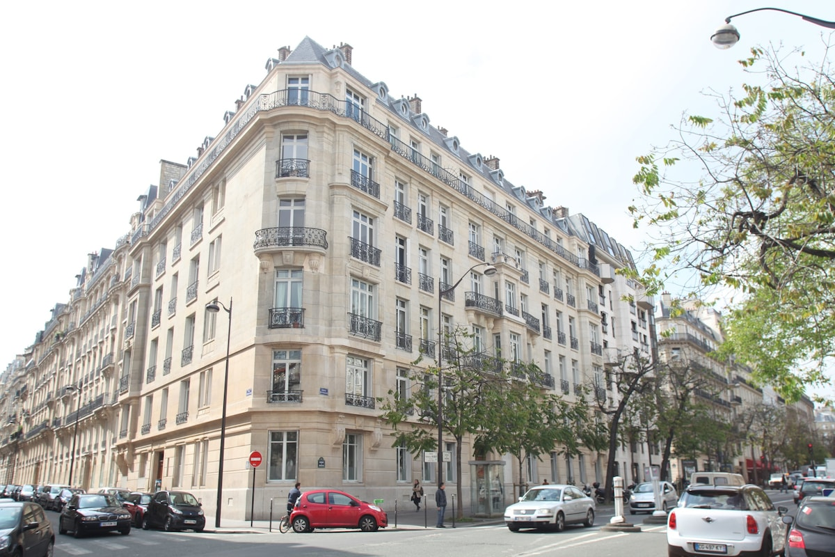 Paris near the Champs-Elysées