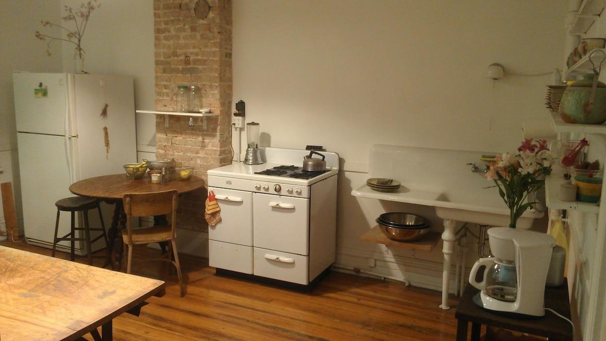 Historic Pullman Art Studio 2 Flat In Chicago