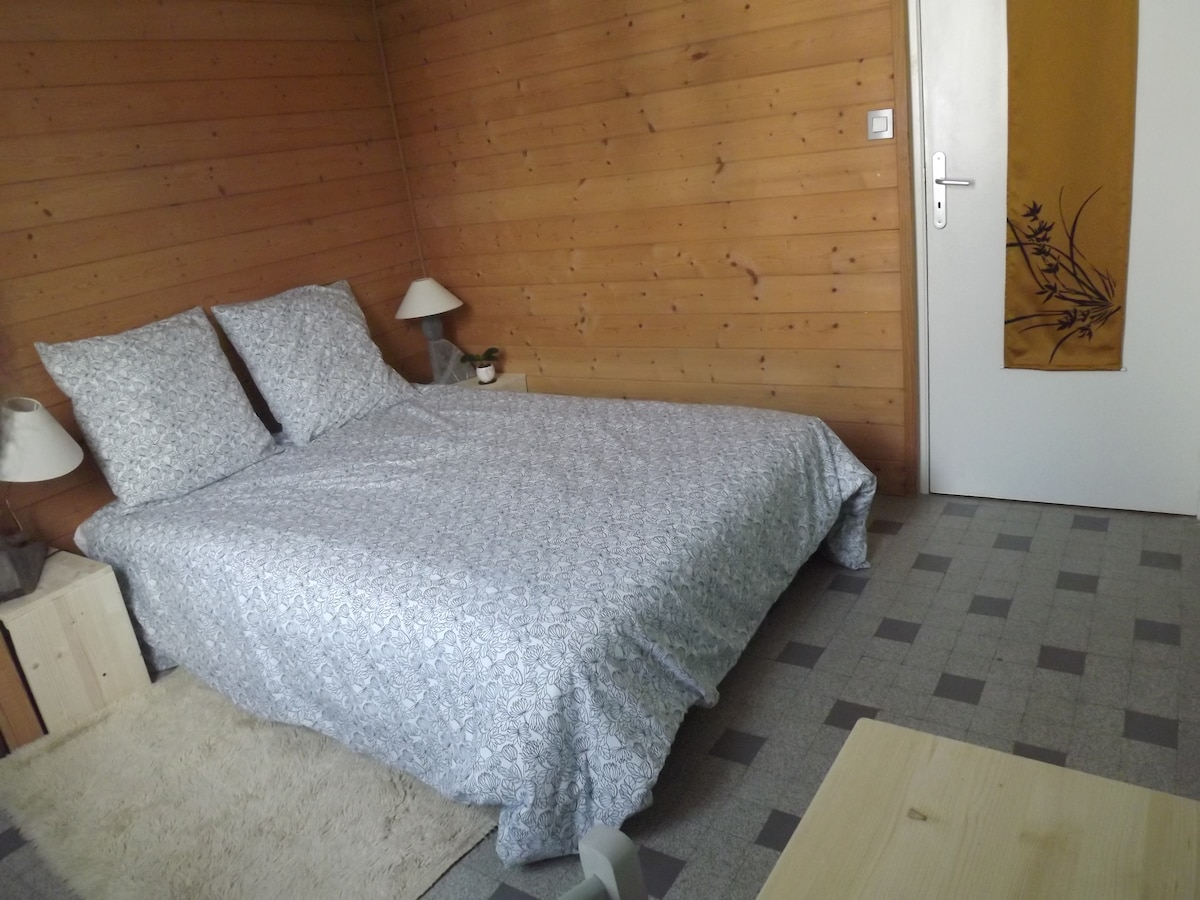 Nice room in downtown Annecy - the bedroom