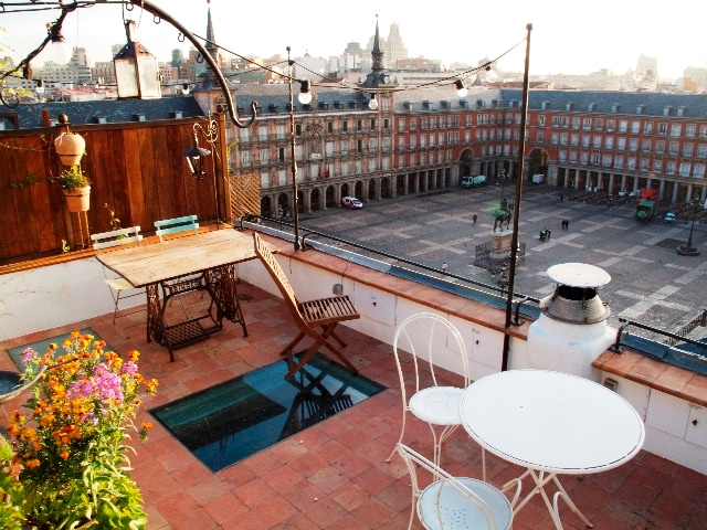 PLAZA MAYOR PENTHOUSE DUPLEX ROOF TERRACE
