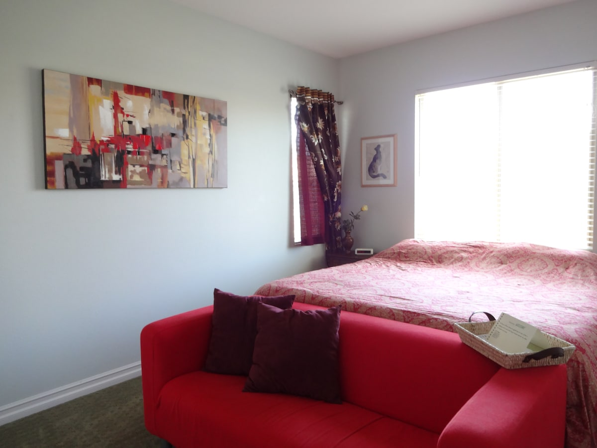 Another view of the large bedroom