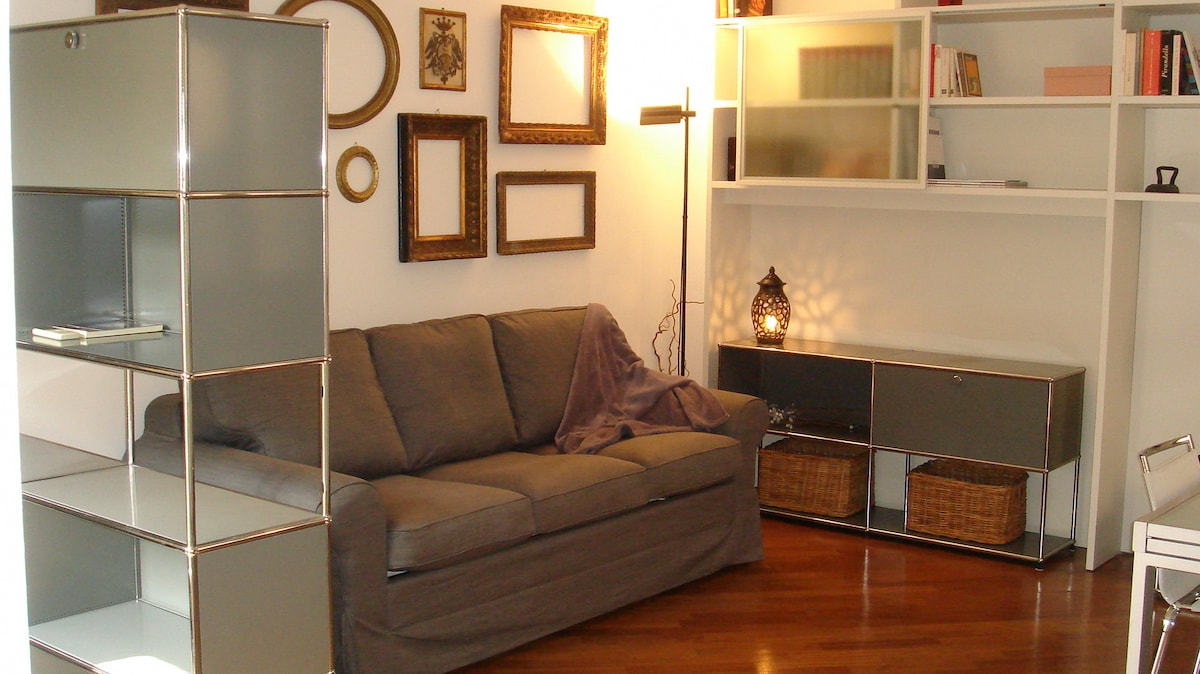 the Living Room - the Double Sofa Bed