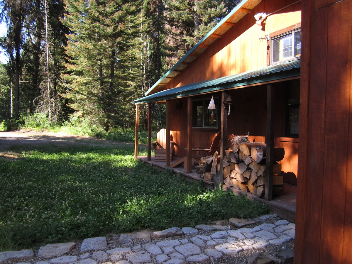 Cabin in the Woods of McCall, Idaho