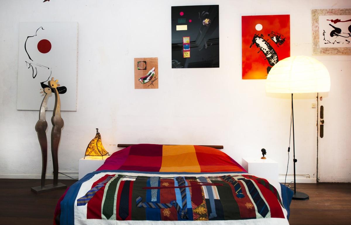 Location appartement d'artiste