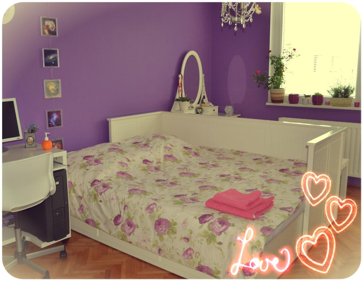Best room in Celje! Center, quiet!