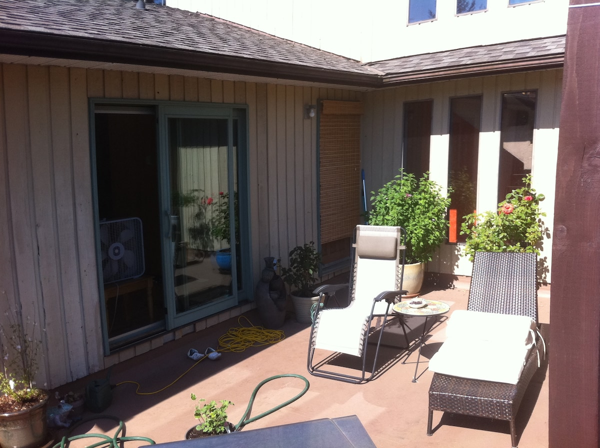 Very nice 1 bedroom suite + pullout