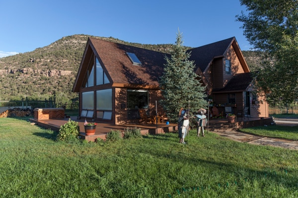 True Grit Rustic Mountain Retreat