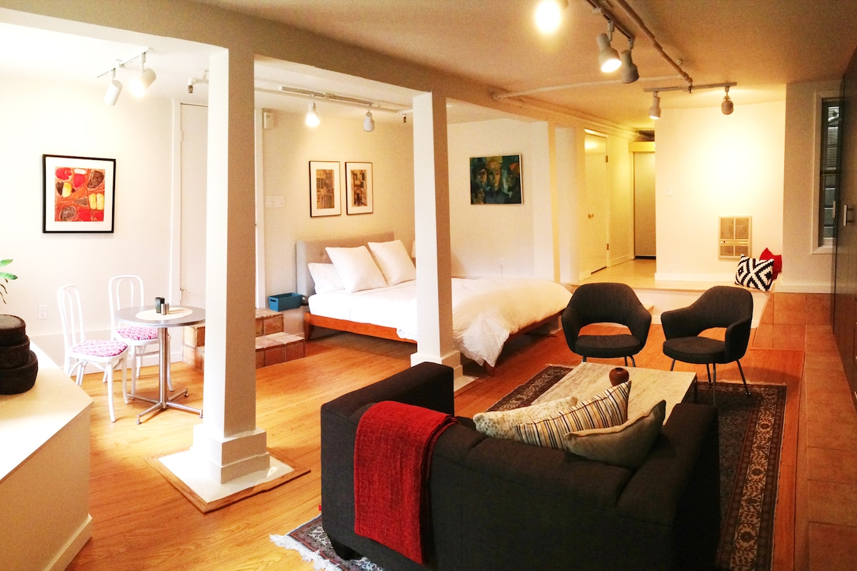 Secluded Studio in Castro/Mission