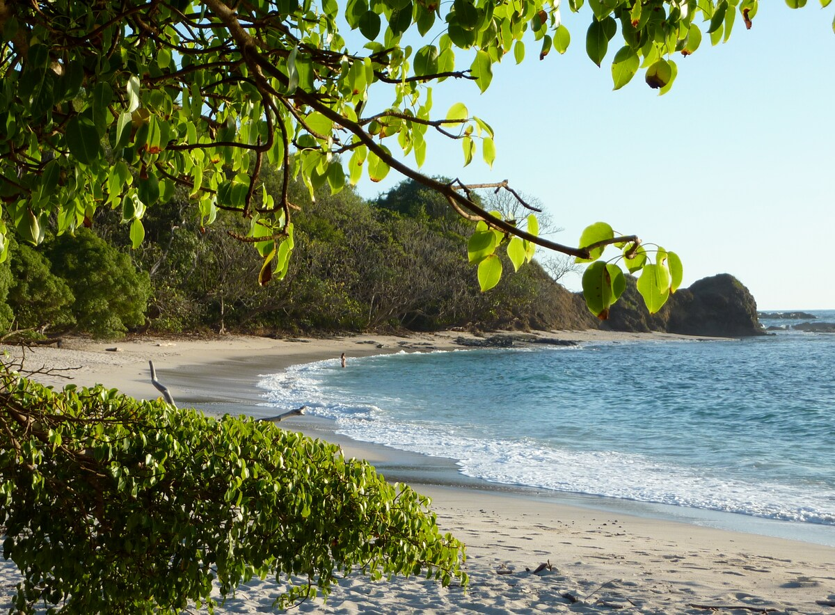 One of the 3 beautiful beaches in San Juanillo, a 10 minute drive.