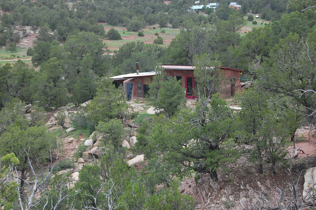 the casita from a distance