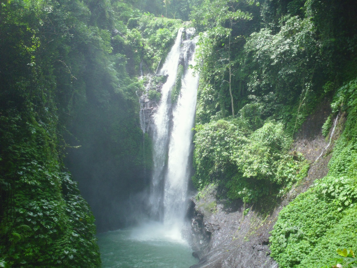 Near by water falls