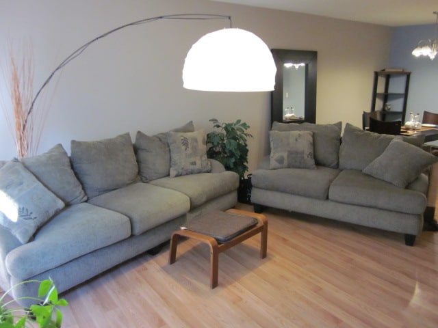 Comfy couches to plan adventures on or simply relax and watch a movie.