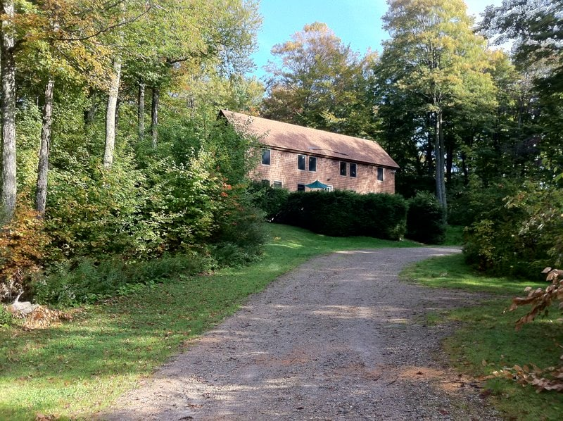 A beautiful summer retreat in the mountains of Vermont with lots of privacy.