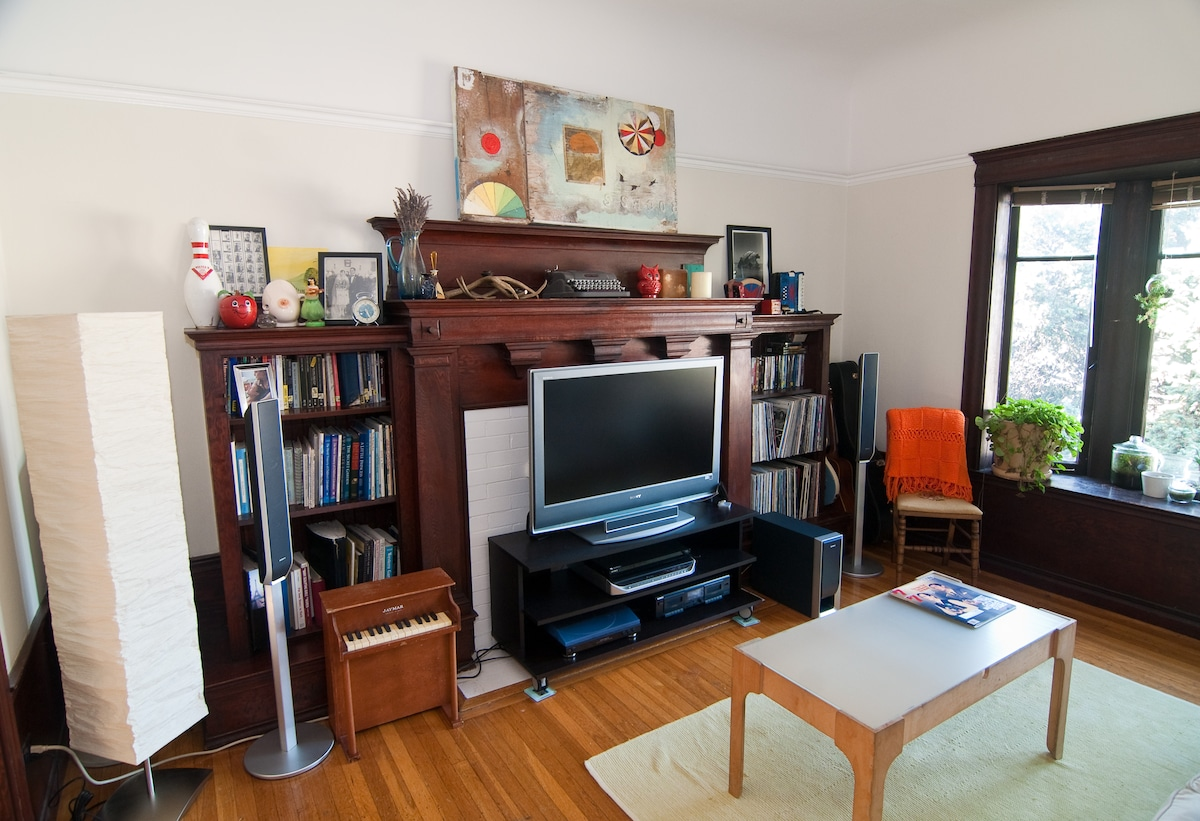 Lovely Victorian flat 1 blk to BART