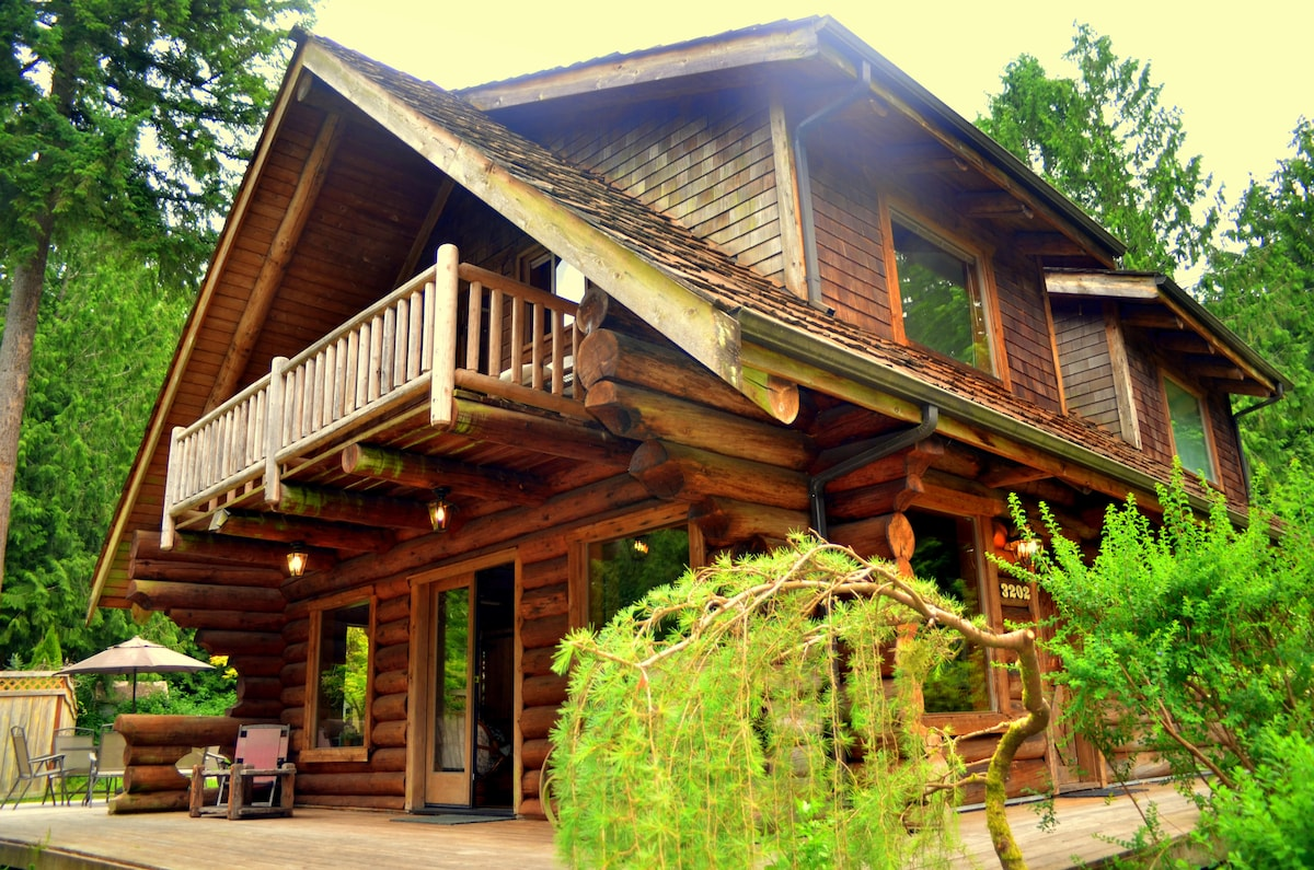 Enjoy Log Cabin And The North West In Redmond