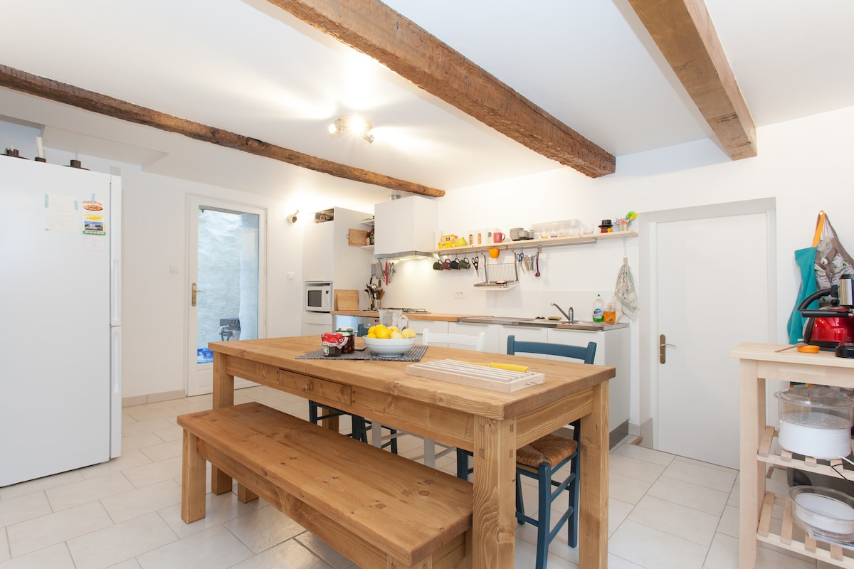 Our fully equipped, modern kitchen.