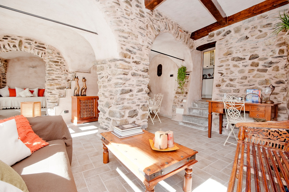 North Tuscany,dreamy stone retreat