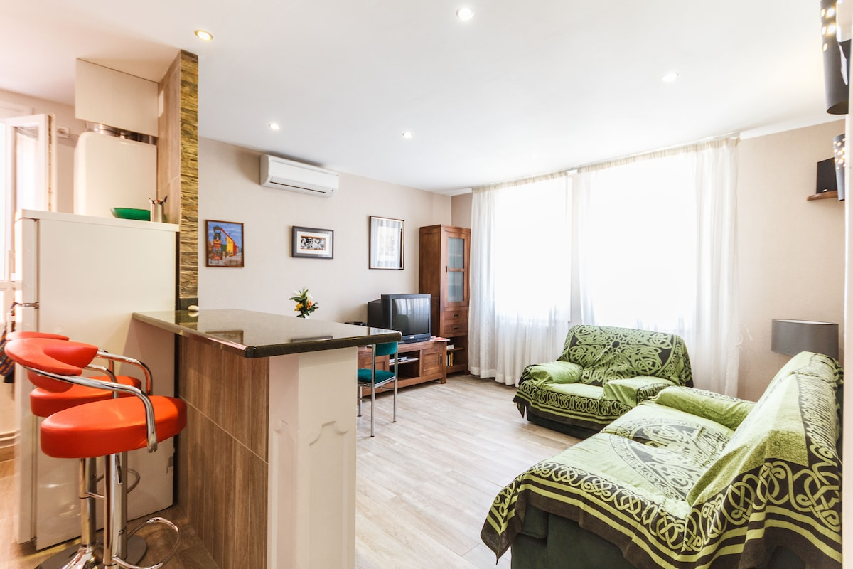 charming cosy apartment 50M2  city