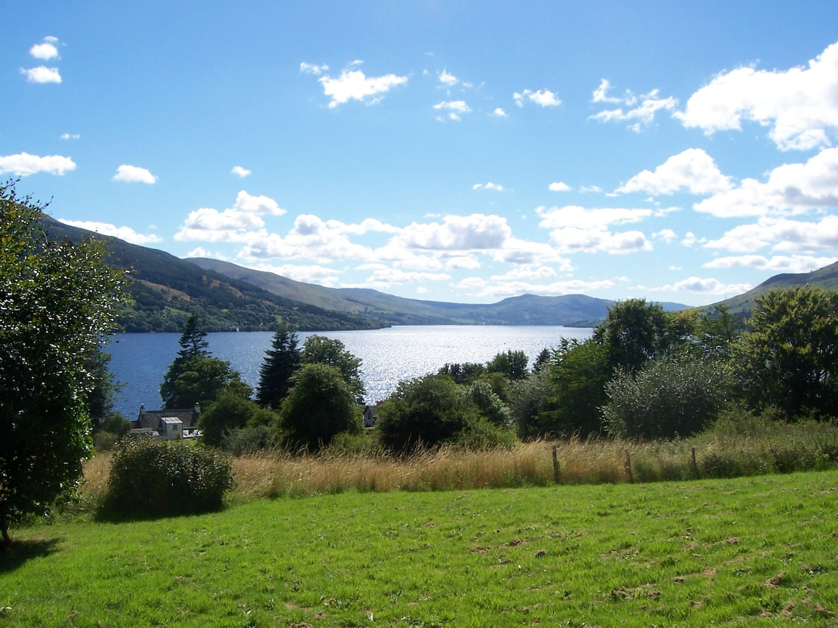 Welcome to My Ben Rye, overlooking Loch Tay at the heart of Highland Scotland, only 90 minutes from Edinburgh!
