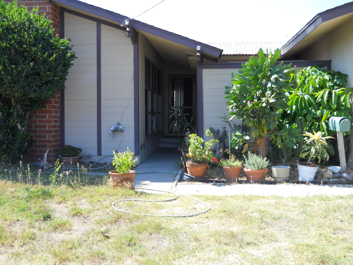 master bed/bath/front & side patio/