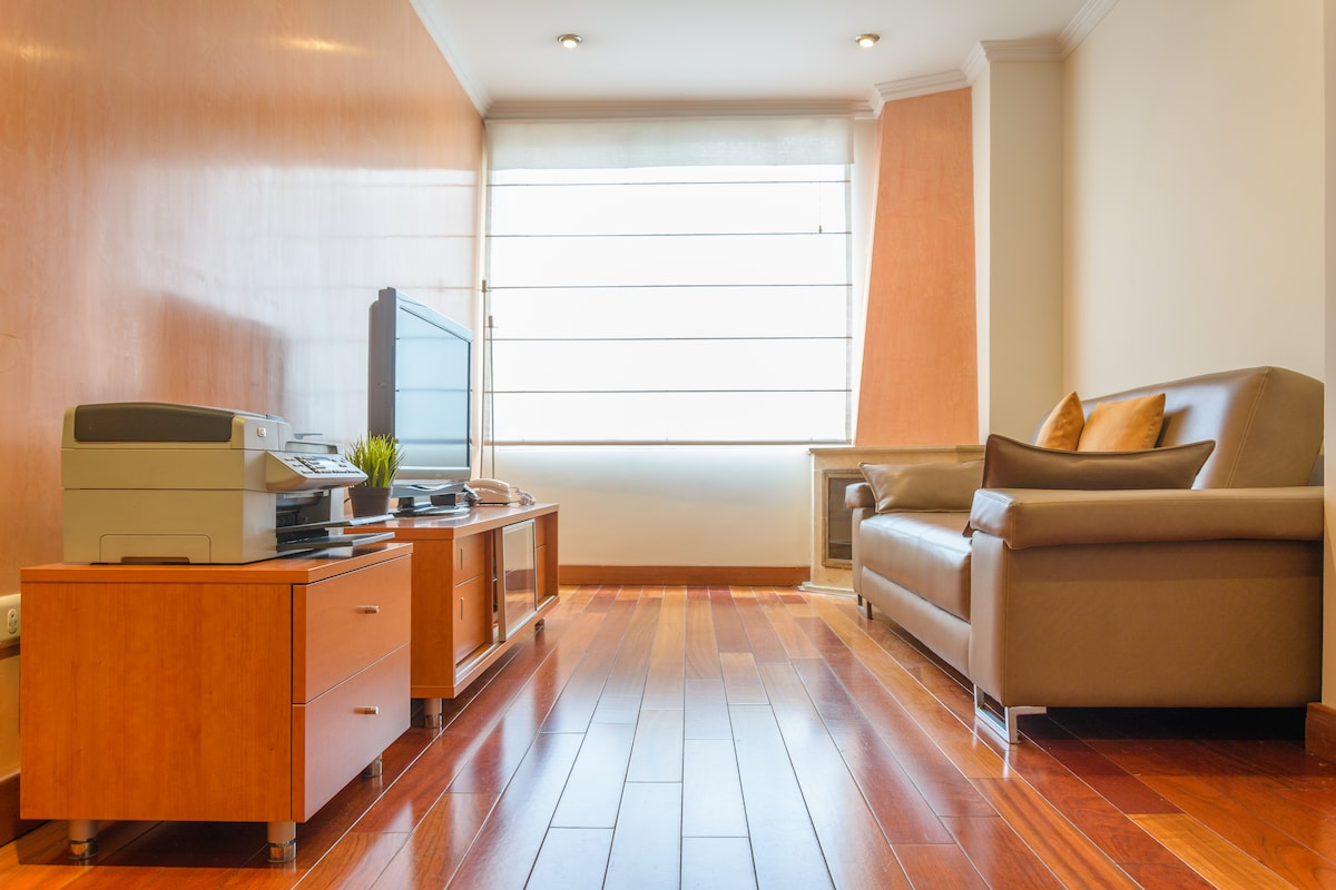 Feel the comfort of home at the living room