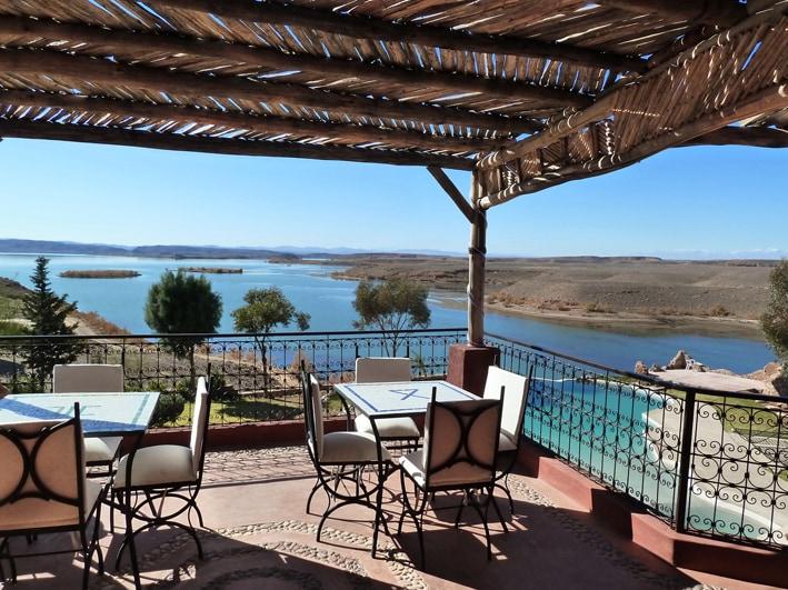 Des terrasses panoramiques à fleur d'eau…