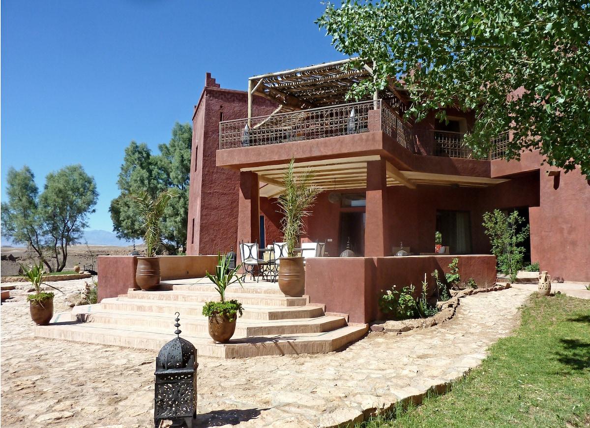Une villa spacieuse et conviviale à partager entre amis…