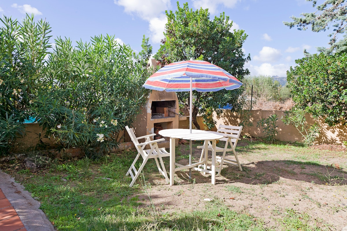 garden and BBQ