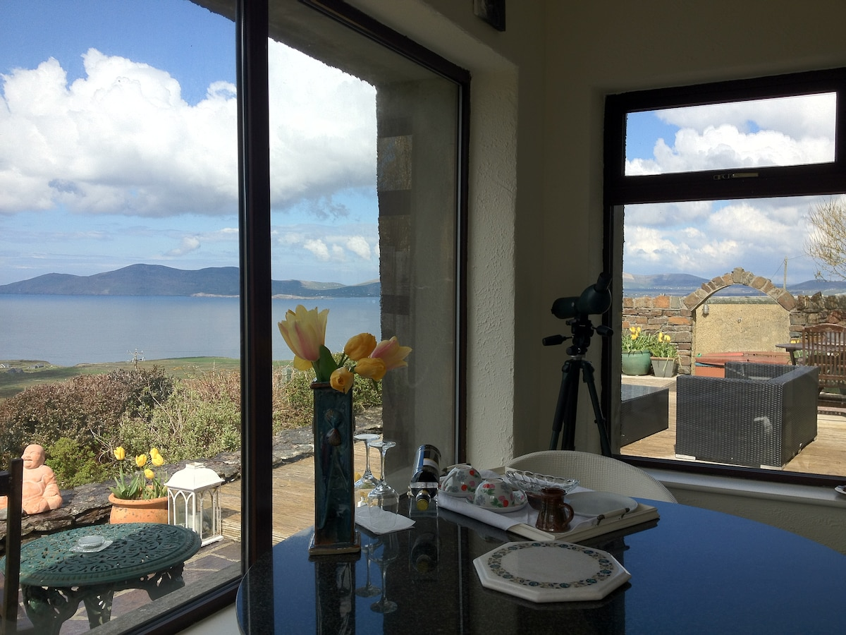 Bay view from conservatory
